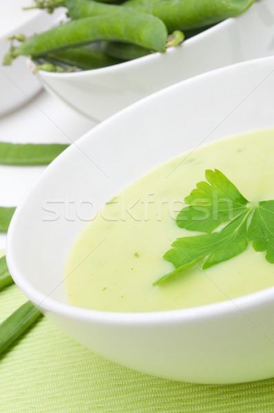Pea Soup Stock photo © jamdesign