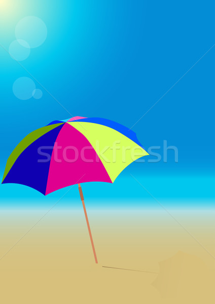 Beach Stock photo © jamdesign