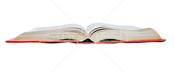 open red book Stock photo © jamdesign