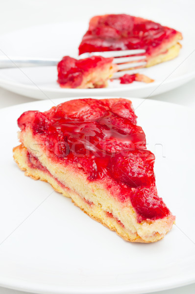Strawberry Pie Stock photo © jamdesign