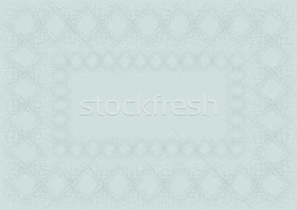 Stock photo: Blank Certificate Background