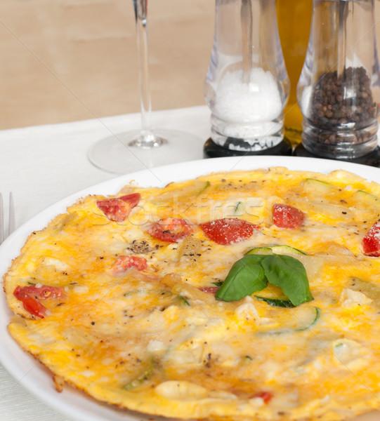 Egg Omelette  Stock photo © jamdesign
