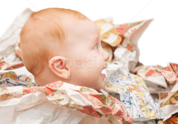Baby's First Christmas Stock photo © jamdesign