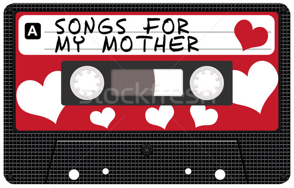 Mother's Day Cassette Tape Stock photo © jamdesign