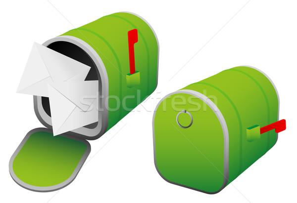 Mailbox Stock photo © jamdesign