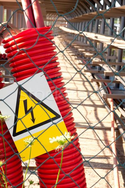 Cabling Stock photo © jamdesign