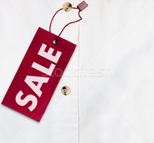 Stock photo: Shirt With Sale Tag