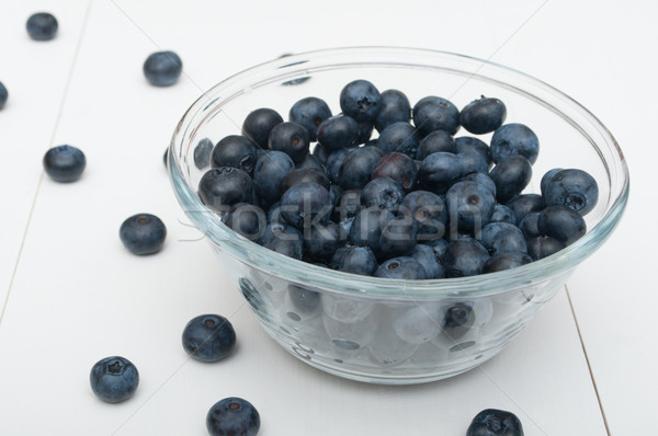 Blueberries Stock photo © jamdesign