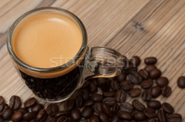 Espresso Coffee Stock photo © jamdesign