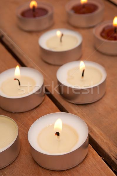 Candles Stock photo © jamdesign