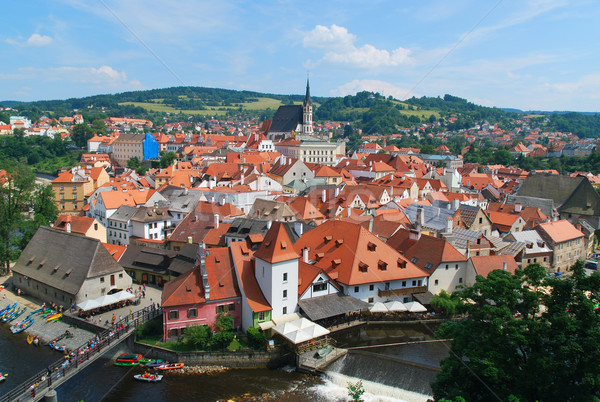 Cesky Krumlov, Czech Republic Stock photo © jamdesign