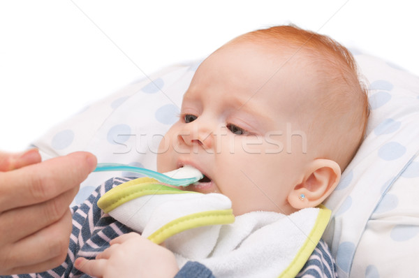 Baby Feeding Stock photo © jamdesign