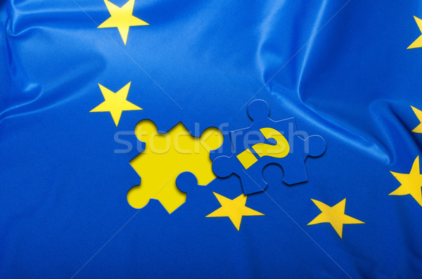 Flag of European Union Stock photo © jamdesign
