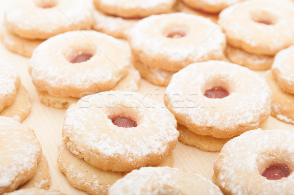 Stock photo: Linzer Cookies