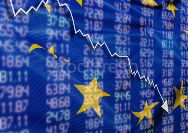 Crisis in Europe Stock photo © jamdesign