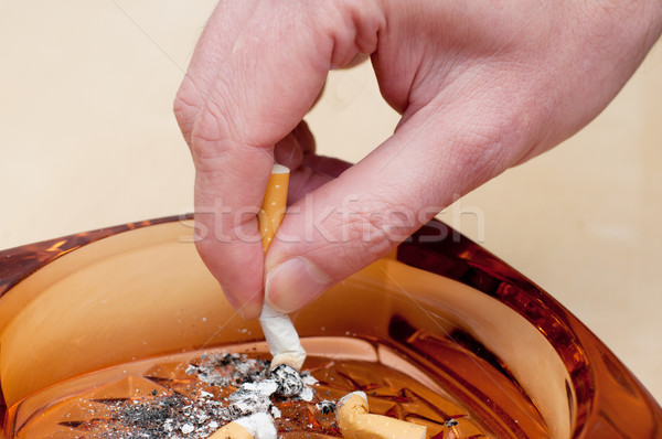 Cigarette Stubbing Out Stock photo © jamdesign