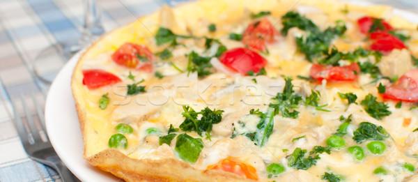 Omelette Stock photo © jamdesign