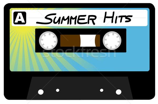 Summer Hits Tape Stock photo © jamdesign