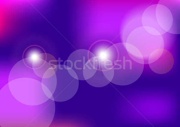 Violet Bokeh Stock photo © jamdesign