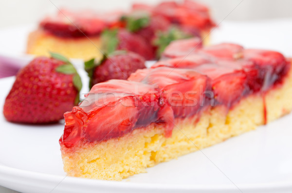 Strawberry Cake Stock photo © jamdesign