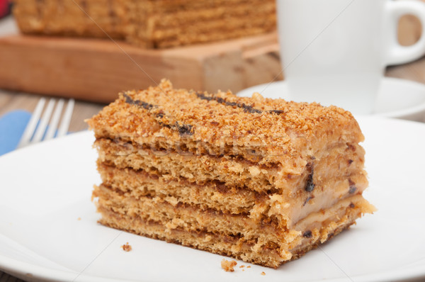 Honey Cake Stock photo © jamdesign