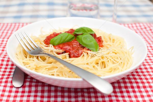 Spaghetti Bolognese Stock photo © jamdesign