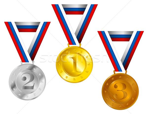 Medals Stock photo © jamdesign