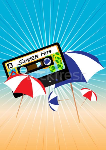 Summer Party Background Stock photo © jamdesign