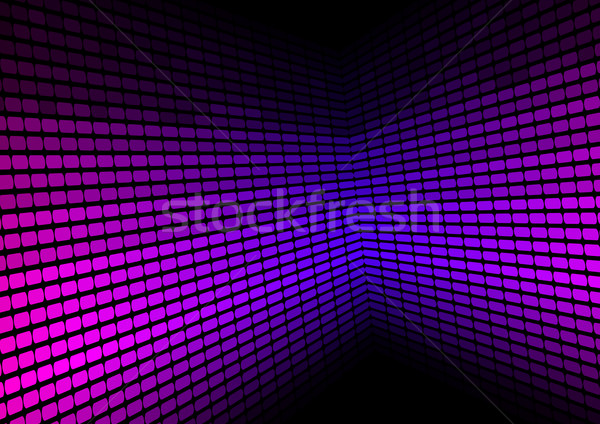 Abstract Background - Violet Equalizer Stock photo © jamdesign