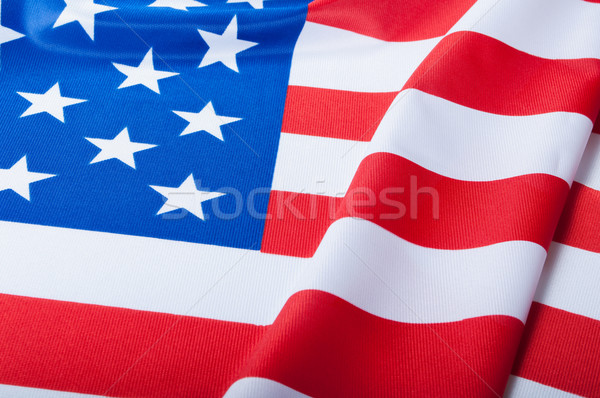 Flag of USA Stock photo © jamdesign