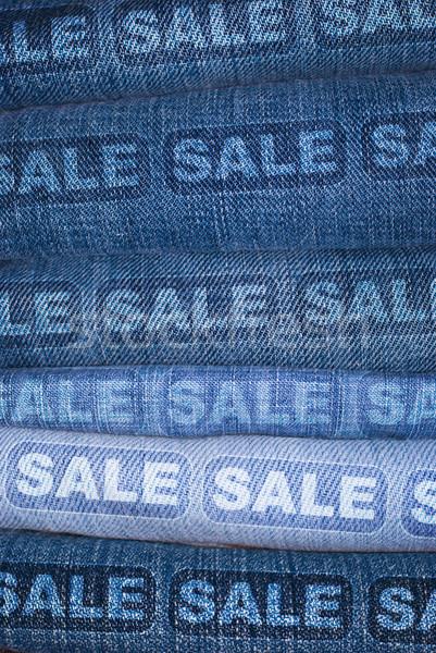 Jeans Sale Stock photo © jamdesign