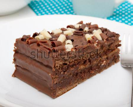 Chocolate Cake Stock photo © jamdesign