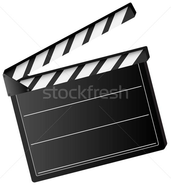 movie clapper board  Stock photo © jamdesign