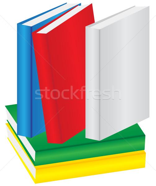 Pile of Books Stock photo © jamdesign