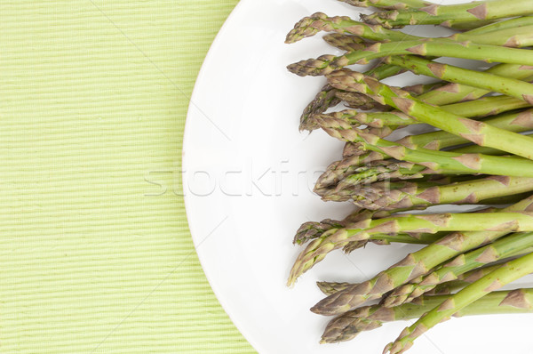 Fresh Asparagus Stock photo © jamdesign