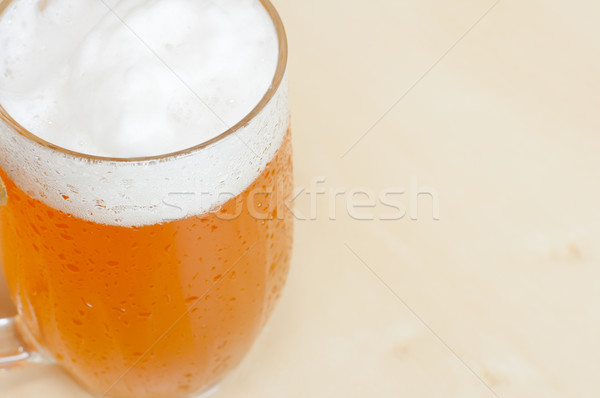 Draught Beer on the Table Stock photo © jamdesign