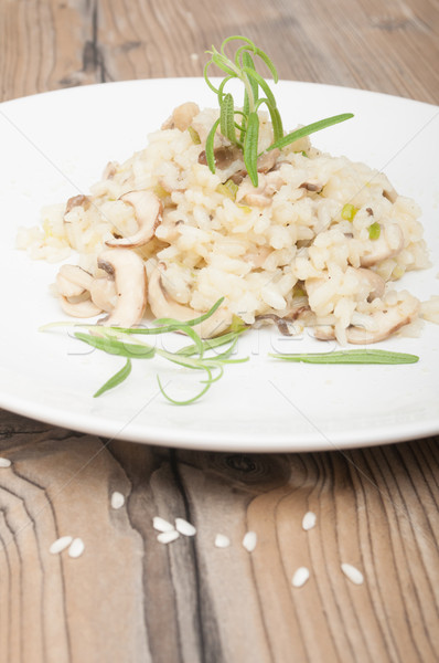 Risotto With Mushrooms  Stock photo © jamdesign