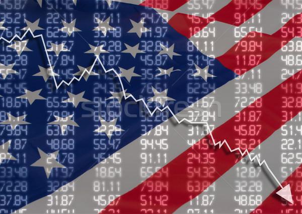 Crisis in USA Stock photo © jamdesign