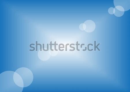 Zonnige Blauw zomer hemel illustratie schone Stockfoto © jamdesign