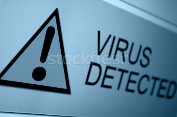 Virus Detected Stock photo © jamdesign