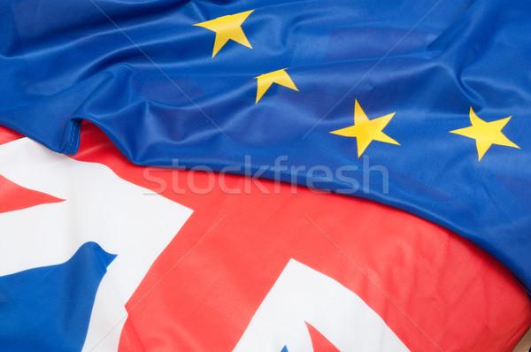 United Kingdom and Europe Stock photo © jamdesign