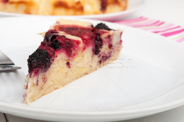 Homemade Cake Stock photo © jamdesign