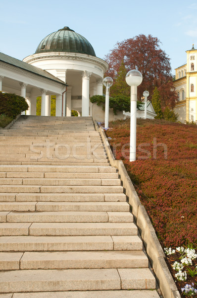Spa Marianske Lazne / Marienbad, Czech Republic Stock photo © jamdesign