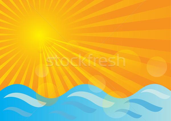 Summer Background Stock photo © jamdesign