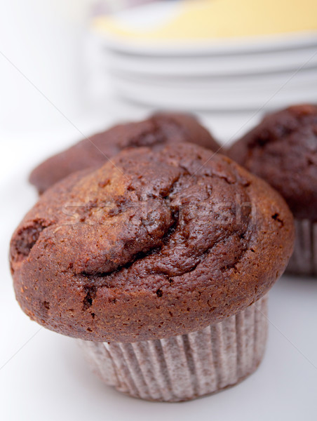 Chocolate Muffin Stock photo © jamdesign