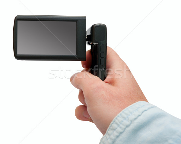 Portable Video Camera Stock photo © jamdesign