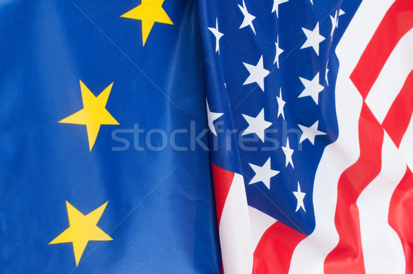 Stock photo: USA and Europe
