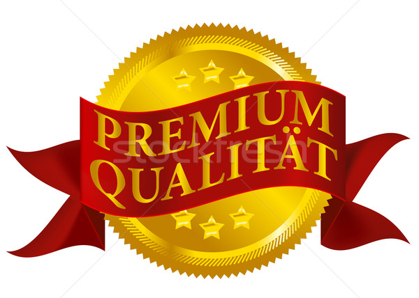 Premium Quality Seal - German Version Stock photo © jamdesign