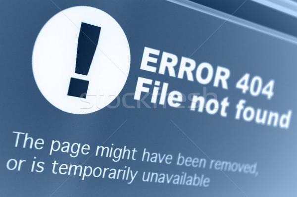 404 ошибка знак интернет браузер Сток-фото © jamdesign
