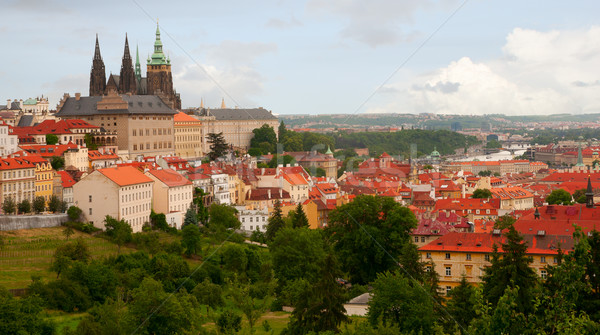 Prague Castle, Czech Republic Stock photo © jamdesign